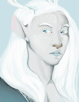 Winter Faun by ImprobableCarny