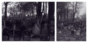 Jewish cemetery again and again and again by possion