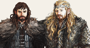Fili and Kili by SeraphimCrystal