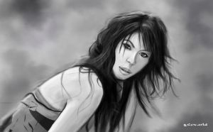 Grayscale sketch study by GDSWorld
