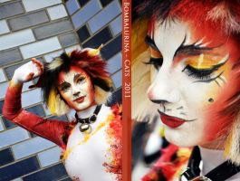 CATS-Bombalurina costume by XxShoneSoBrightly