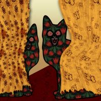 Cats and Curtains by jeorban