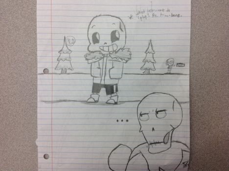 Sans I swear to god. by DankMemesAndTrash