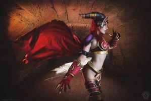 Alexstrasza the Red - World of Warcraft cosplay by Narga-Lifestream