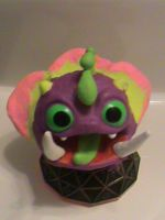 Skylanders-Buddy Wrecking Ball-Series 2 by KrazyKari