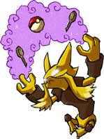 Alakazam WWS by the19thGinny