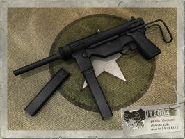 M3A1 'Grease Gun' by CaDeh