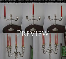 Candelabra Pack by GothicNarcissusStock