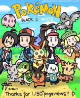 Pokemon BW: New Adventure by pikaplusmin