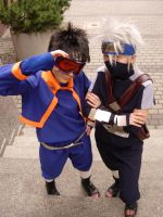 Obito and Kakashi by ToraCosplayers