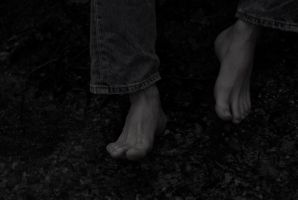 Alone in the forrest 10 - Barefoot by marcusbeach