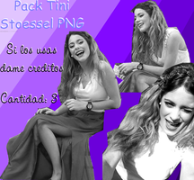 Pack PNG Tini Stoessel, blanco y negro by EugeeTinistaForever