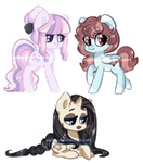 Pony Adopt Auction (Closed) by Xaika