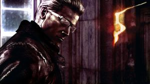 Re5 - Wesker Wallpaper by tonywonyrony