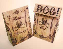 Halloween favor bags by AmeliaLune