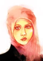 Pink Shawl by afique
