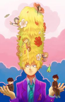 Mob Psycho 100 - An Obviously Special Guy by Dari-Dari