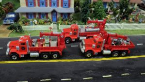 Pipe Truck Convoy by hankypanky68