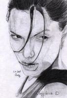 Angelina Jolie by cindy-drawings