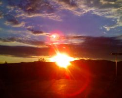 Colorado Sunset by beautifulyx3torn