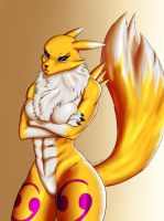 Renamon by Nazorad