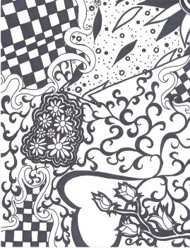 Trippy sharpie by Hate-Your-Soul