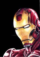 Iron Man by csrMartins