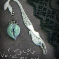 A Mermaid's Lagoon: Rae Mermaid Bookmark by VulvaLoveLovely