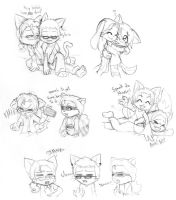 Great Moments in Chibi History: Dat Night by Le-Okami