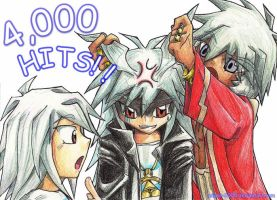 Chibi Bakuras - 4000 Hits by Anime-2000