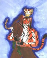 Rumpelteazer and Warmaker by softpaw
