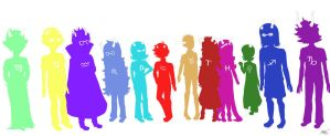 Homestuck Body Types by lilykitten1998