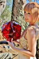 Dungeons and Dragons Red D20 by Daria168