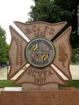 Baltimore County Fire Department memorial shrine by seeker-of-revelation