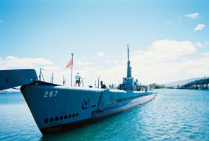 USS Bowfin SS-287 by Pwesty