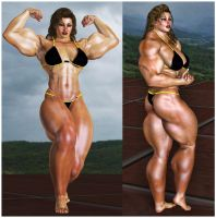 Muscular Beauty by suneeeel
