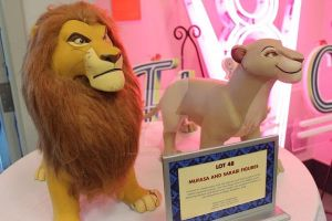 mufasa and sarabi maquettes by SimbaLionKingForever