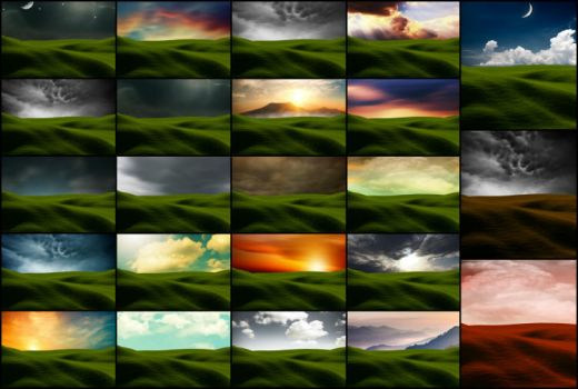 23 field and sky images all high resoloution by heavenxxx89