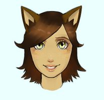 kay  T headshot by omgOVER9000