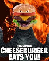 Cheeseburgerzilla by Shin-Goji