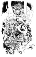 AVENGERS ASSEMBLE_commission by EricCanete