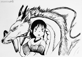 Spirited away by AnanyaArts