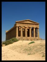 Temple of Concordia by black-amber