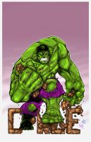 Green Hulk Smash Cancer by sketchheavy