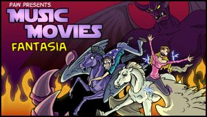 Music Movies Title Card- Fantasia by Namingway