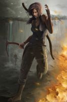 Tomb Raider contest entry by GloriousRyan
