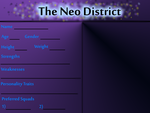 Blank Application Neo District by BevyArt