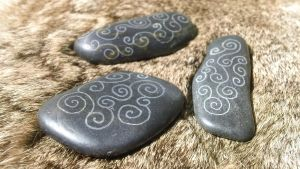 Celtic Spiral Altar Stones by Troll-Blood