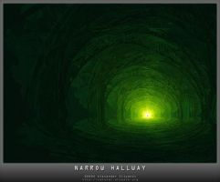 Narrow hallway by morphinum