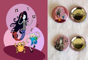 Adventure Time Dancing Buttons by artshell